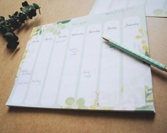 Weekly List - Eucalyptus