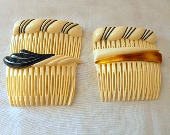 Vintage hard plastic haircombs Collection
