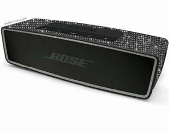 Bose Sound Link Mini 2 Wireless Speaker Customized with Swarovski Elements