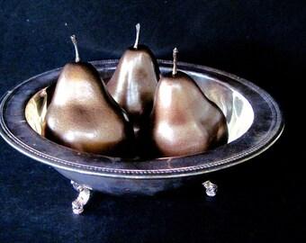 Bronze Pears, Wedding Decor, Holiday Pears, Holiday Table Decor, Wedding Table Decor, Photography Prop, Mantle Decor, Home Decor, Pears