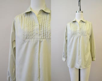 1960s Land N Sea Pale Green Shirt