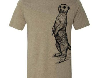 Craft Beer Shirt, Spirit Animal Meerkat Shirt, Craft Beer Tshirt, Craft Beer Snob, Homebrewer, Homebrewing, Cool Beer Festival Shirt