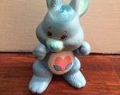 Care Bear Cousins Swift Heart Rabbit  Posable figurine PVC 80's toy
