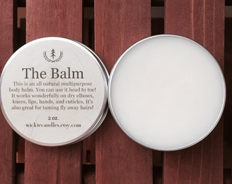 Sandalwood Scented All Natural Multipurpose Body Balm Salve