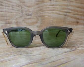 Vintage Safety Glasses American Optical Tinted Safty