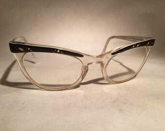 Vintage Shuron Cat Eye Glasses
