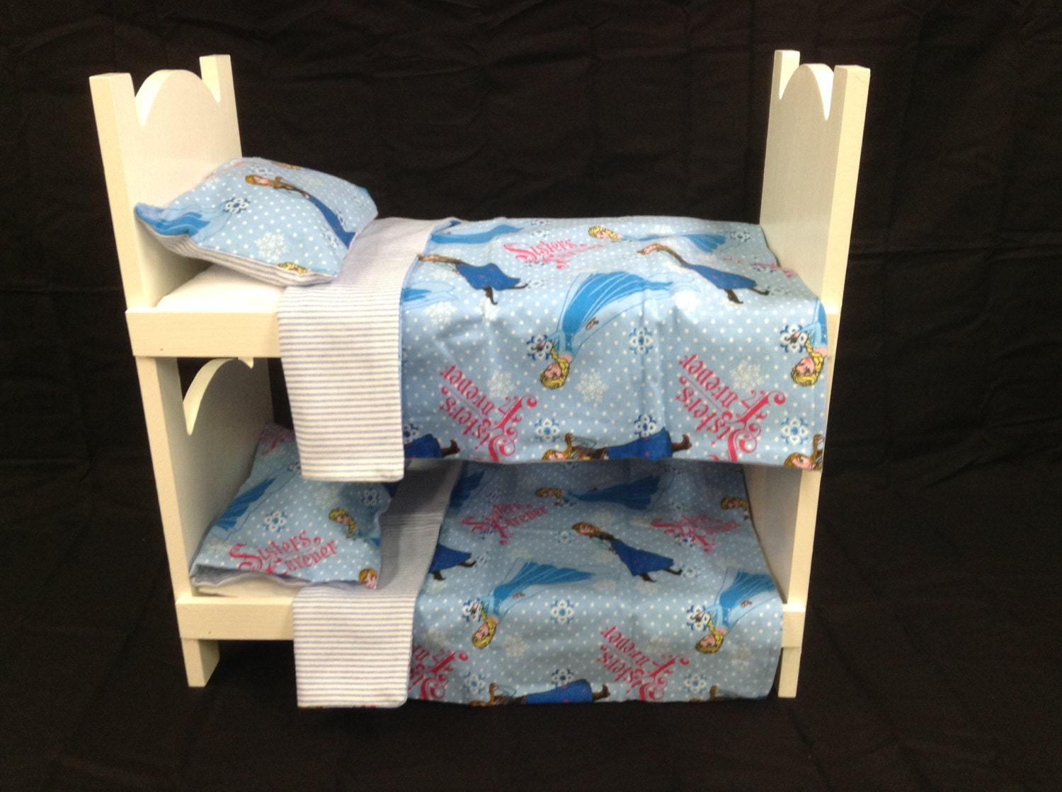american girl bunk bed doll bunk bed for american 18 inch dolls white frozen 11830