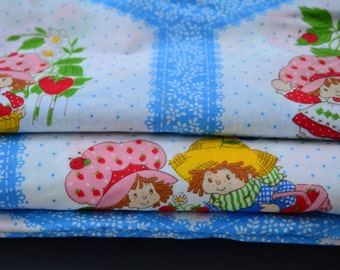 Strawberry Shortcake Huckleberry Pie Vintage Fabric by the yard
