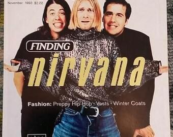 Nirvana Details Magazine Kurt Cobain Music Fashion 1993