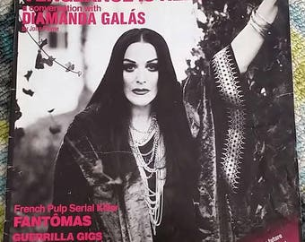 Diamanda Galas Goth Avant-Garde Experimental Dark Rare Arthur 2008  Vol 2 #28 Publication