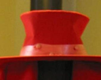 Alucard Hat and gloves, Hat available in RED or BLACK