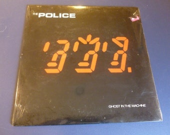 The Police Ghost In The Machine Vinyl Record SP_3730 A&M Orig. Shrink Wrap 1981.