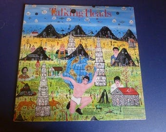Talking Heads Little Creatures Vinyl Record 1-25305 Sire Records 1985