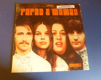 Papas & The Mamas Special Jacket Vinyl Record LP DS-50031 Dunhill Records Stereo 1968