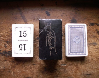 Vintage Flinch Number Playing Cards in Original Box - Complete Set with Directions - Great Wedding Table Numbers!