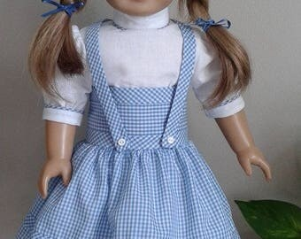 Complete Dorothy Outfit for 18 Inch Dorothy in Oz or AG Doll