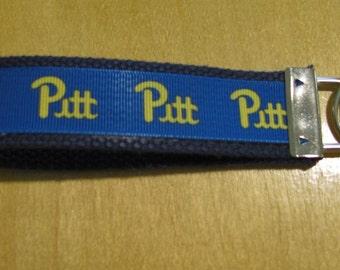 Univ. of Pittsburgh Inspired Key Fob/Wristlet