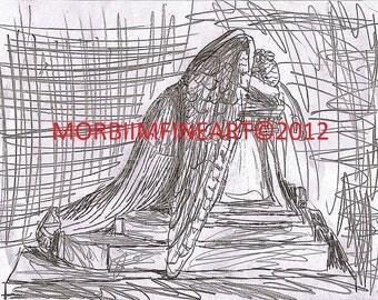Weeping Angel by Esahn Dulin