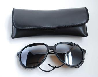 Steampunk Riding Glasses Goggles Leather Sides
