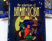 Adventures of Batman and Robin Trading Cards