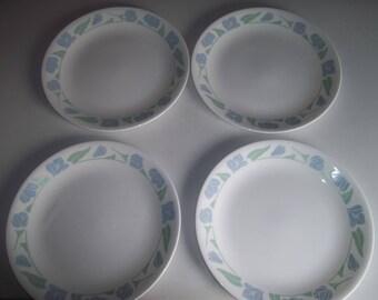 """Set of 4 Corelle Friendship Salad Plates 8 1/2"""""""