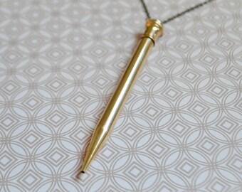 Joan Holloway Pencil Necklace No. 164