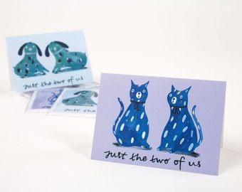 Just the two of us - Staffordshire Pottery inspired card for Valentines.