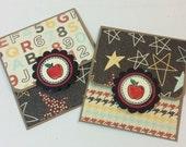 Teacher giftcard holders (2) teacher appreciation