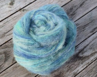 Hand-dyed Brushed Alpaca/Silk Luxury yarn