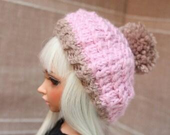 PomPom! (Pink&Sand) - MNF beret