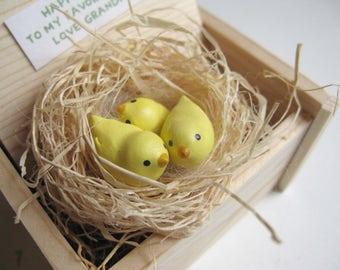 My favorite Peeps, Chick, Easter basket, Kids & Grandkids Easter gift