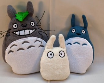Totoro Family - Plush - Weighted Bottoms