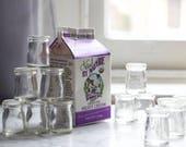 16 Reserved Vintage Miniature Restaurant Glass Creamer