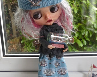 Blythe Sweet Ship in a Bottle Outfit  (BD3317)