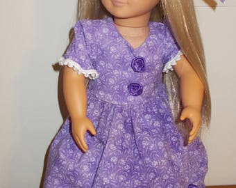 Handmade 18 inch Doll Dress fits American Girl Madame Alexander My Generation