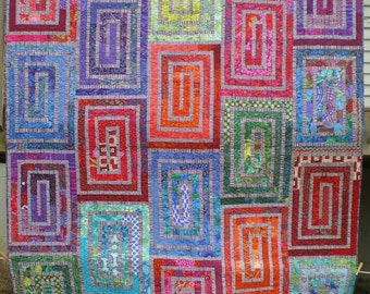 Colorful Full Size Quilt