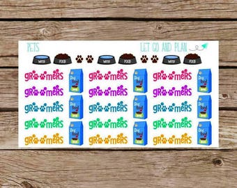 Groomers/Pet Stickers