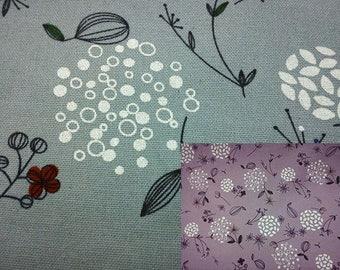 Dandelion, fat quarter, pure cotton fabric