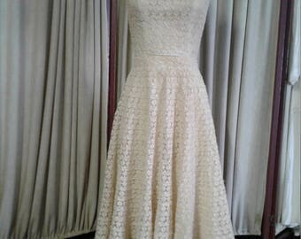Summer Time Vintage 2 pc Lace Outfit