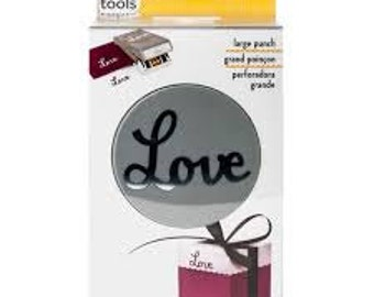 Large LOVE Paper Punch by EK Tools