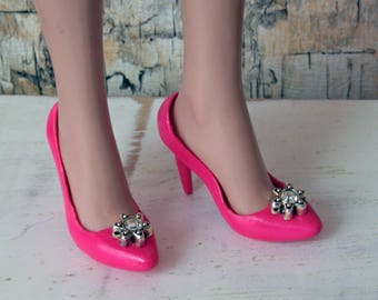 Ellowyne Wilde Shoes Pink with Stars