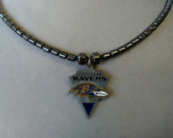 Baltimore Ravens Necklace for Him