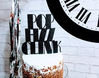 Pop Fizz Clink Cake Topper