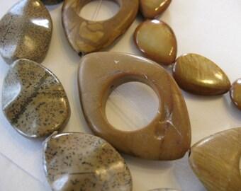 Semi Precious Bead Lot -2
