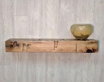 """Floating Shelf 24"""", Floating Shelves, Floating Wooden Shelves, Rustic Floating shelves, Bathroom Shelf, Floating Picture Shelf, wooden shelf"""