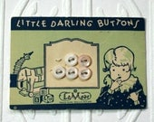 Vintage Pearl Baby Button Card-LaMode