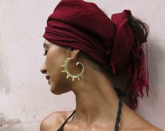 Ourea Brass earrings