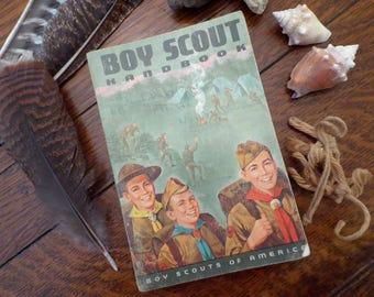 1965 Vintage Boy Scout Handbook P Baker