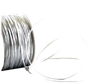Tubular Thread Silver mt 100