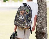 Personalized Camo Backpack, Monogrammed Camo Back pack, Real Tree Backpack, Camoflage Backpack
